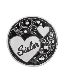 Moon & Back Sterling Silver 'sister' Bead by Argos