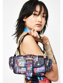Midnight City Buckle Bag by Current Mood