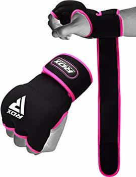 Rdx Hand Wraps Ladies Boxing Inner Gel Gloves Fist Knuckle Protector Muay Thai Mma Women Bandages Neoprene Padded Kickboxing Mitts by Rdx