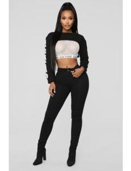 Tell Me What You Want Skinny Jeans   Black by Fashion Nova