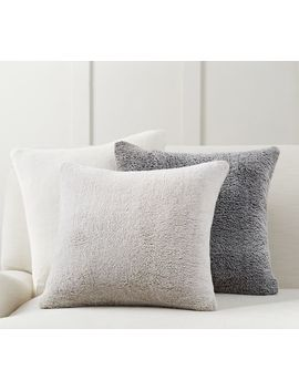 Faux Fur Cozy Pillow Covers by Pottery Barn
