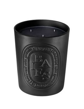 Black Baies Small Scented Candle by Diptyque