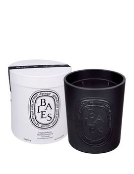 Black Baies Large Scented Candle by Diptyque