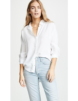 Half Placket Button Down Shirt by Bella Dahl