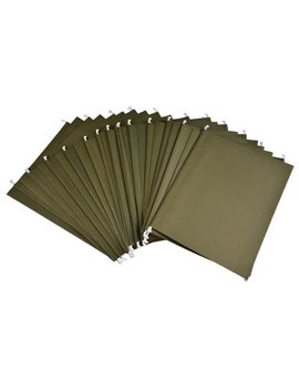 Pen+Gear Hanging File Folders, Green, Letter, 25 Per Box by Pen+Gear