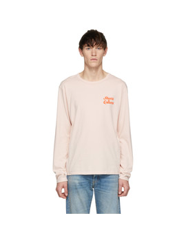 Pink 'steers & Queers' Long Sleeve T Shirt by Bianca Chandon