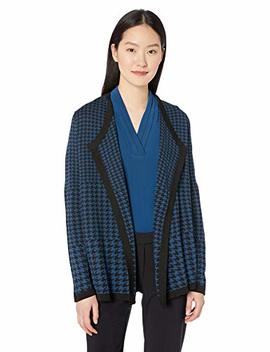 Anne Klein Women's Drape Front Cardigan by Anne Klein