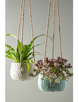 Dune Hanging Pot by Anthropologie
