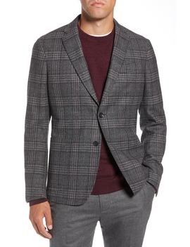 Extra Trim Fit Wool Blend Sport Coat by 1901