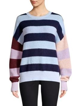 mila-stripe-merino-wool-&-mohair-blend-sweater by parker
