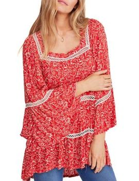 Talk About It Floral Print Tunic by Free People
