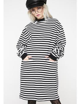 Lo Pocket Sweater Dress by Lazy Oaf