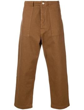 Baggy Fit Trousers by Société Anonyme