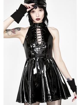 Punk Midnight Seduction Mini Dress by Punk Rave