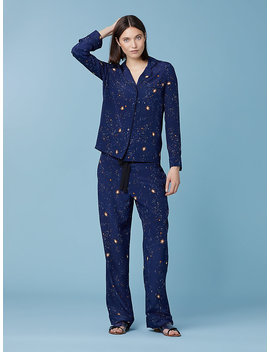 Long Sleeve Zodiac Pajama Top by Dvf