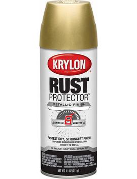Krylon K06930000 Rust Protector Metallic Paint, Gold by Krylon