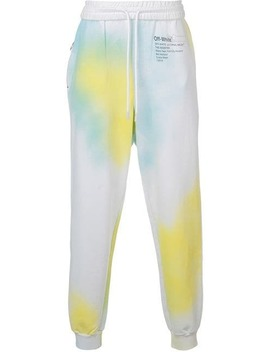 Off White X The Webster Tie Dye Track Pants by Off White