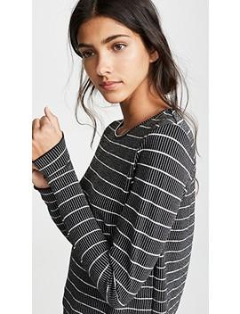 Dearest Stripe Long Sleeve Tee by The Fifth Label