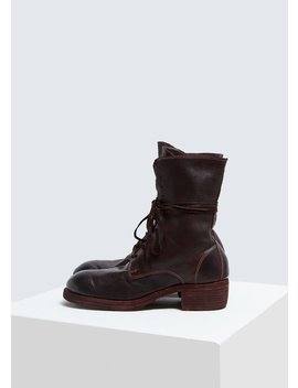 Lace Up Boot by Guidi