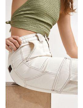 Bdg Ecru Skate Jeans by Bdg