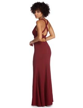 Cheyanne Formal Multi Strap Dress by Windsor