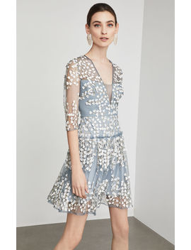 Floral Vine Applique Dress by Bcbgmaxazria
