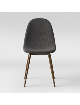 Copley Upholstered Dining Chair Dark Gray   Project 62™ by Project 62