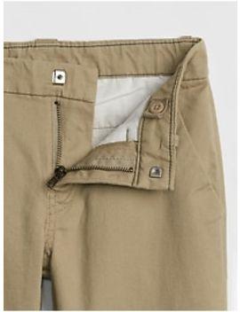 Slim Straight Fit Khakis by Gap