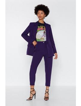 Suiting For You Tapered Pants by Nasty Gal