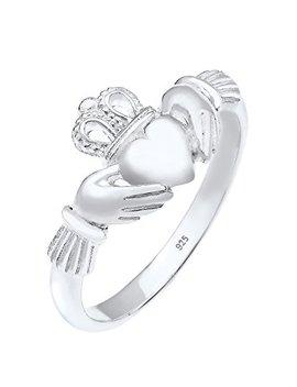 Elli Ring Claddagh Herz Krone 925 Sterling Silber by Amazon