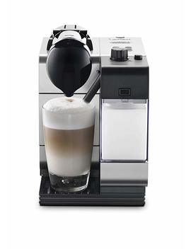 De Longhi Nespresso Lattissima Plus Espresso/Cappuccino Maker By De'longhi En520 Slca, Silver by Amazon