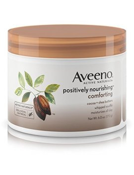 Aveeno Positively Nourishing Daily Moisturizer Comforting Whipped Soufflé, 6 Oz by Aveeno