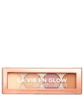 L'oréal Paris La Vie En Glow Highlighting Powder Palette   Warm Glow 10g by Look Fantastic