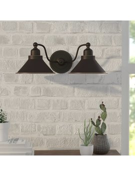 Trent Austin Design Schaff  2 Light Wall Sconce In Mission Dust Bronze & Reviews by Trent Austin Design