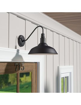 Laurel Foundry Modern Farmhouse Aurelia 1 Light Outdoor Barn Light & Reviews by Laurel Foundry Modern Farmhouse