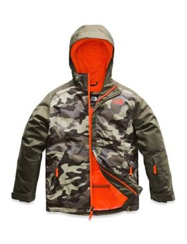 Boys' Brayden Insulated Jacket by The North Face
