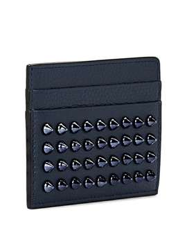 Kios Leather Card Case by Christian Louboutin