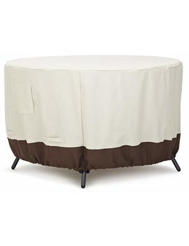 Amazon Basics Round Dining Table Patio Cover   48 Inch by Amazon Basics