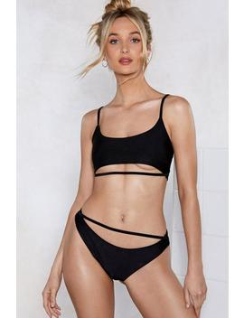 Dip Out Bikini Top by Nasty Gal