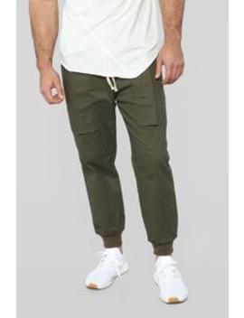 Miller Cargo Pants   Olive by Fashion Nova