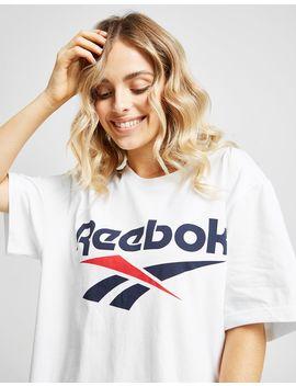 Reebok Vector Logo T Shirt by Reebok