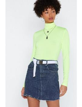 That Don't Wash With Me Denim Skirt by Nasty Gal