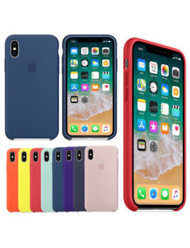 For I Phone 7/8 Plus/ X/ Xs Max Shockproof Bumper Soft Silicone Phone Case Cover by Ebay Seller