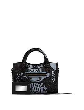 Leather Mini Classic City Bag by Balenciaga