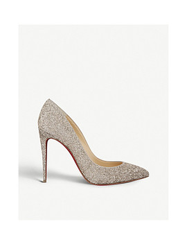 Pigalle Follies 100 Glitter Givre Perle by Christian Louboutin