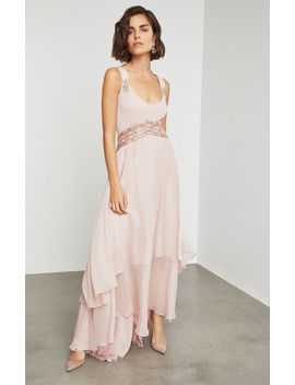 Sleeveless Beaded Embroidery Gown by Bcbgmaxazria