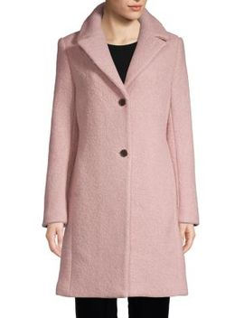 Tessa Boucle Coat by T Tahari