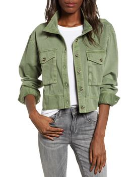 Crop Military Jacket by Bp.