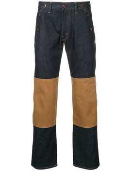 Junya Watanabe Comme Des Garcons Man X Carhatt Stripe Detail Jeans by Junya Watanabe Man