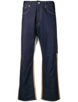 Cropped Fit Jeans by Junya Watanabe